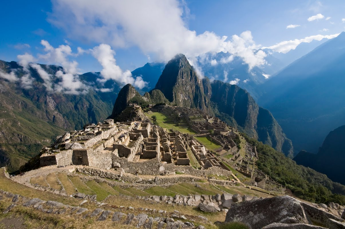 Machu Picchu. Photo credit not found. TravelSeeLove.com does not claim any rights whatsoever to this image.