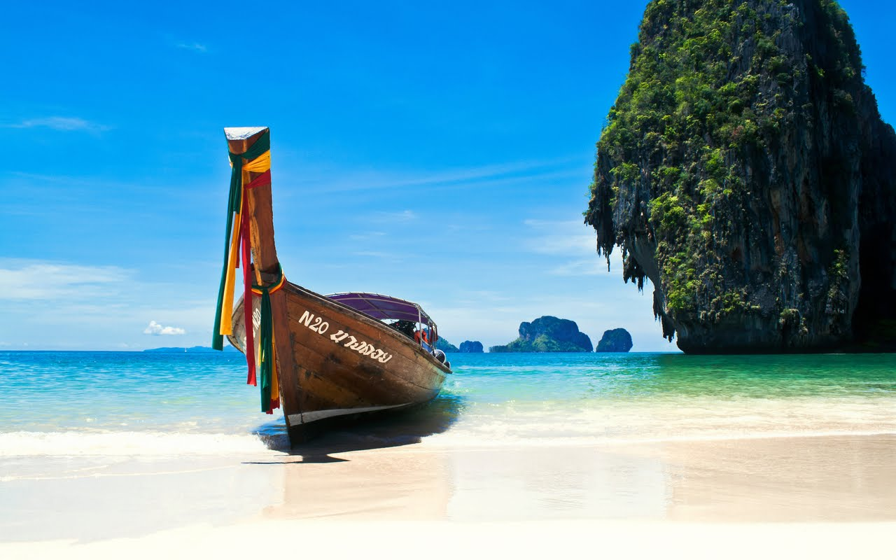 Phuket beach. Photo credit not found. TravelSeeLove.com does not claim any rights whatsoever to this image.