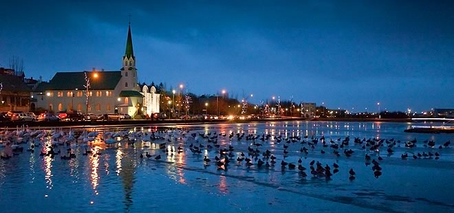 Reykjavik. Photo credit not found. TravelSeeLove.com does not claim any rights whatsoever to this image.