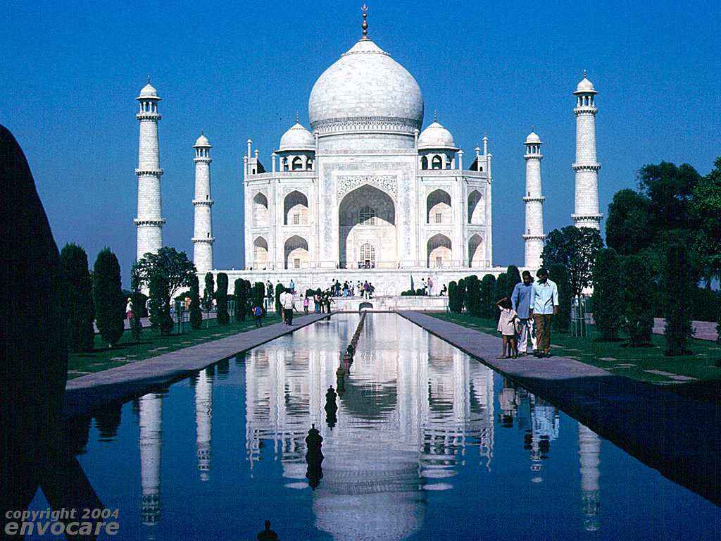 Taj Mahal, Agra, India. Copyright encovare