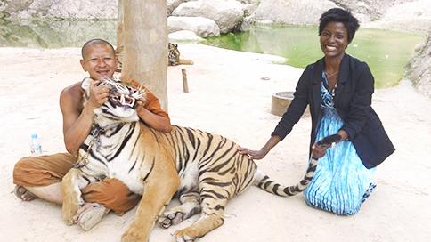 Yetunde Monk Tiger