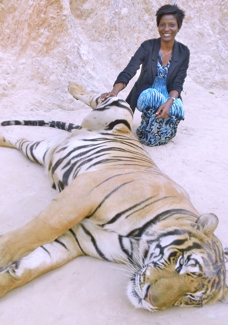 Yetunde and Tiger