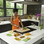 Yetunde in Kitchen