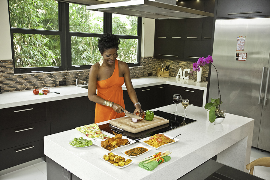 Yetunde in Kitchen