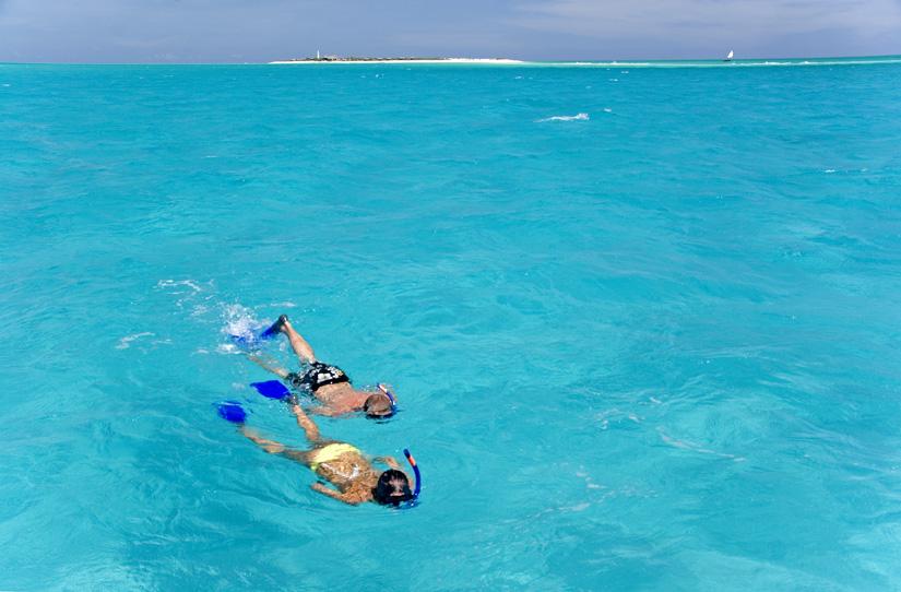 Mozambique snorkelers