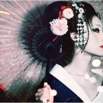 Pretty Geisha. Even given their occupation, they are a gorgeous part of the Japanese culture