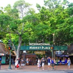 Stroll along Kalakaua Ave in Waikiki - International marketplace