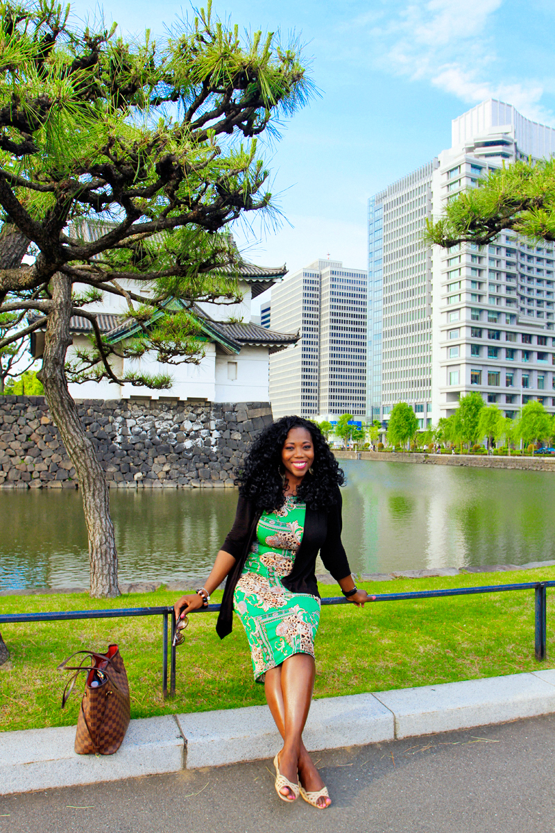 Relaxing at the Imperial Palace