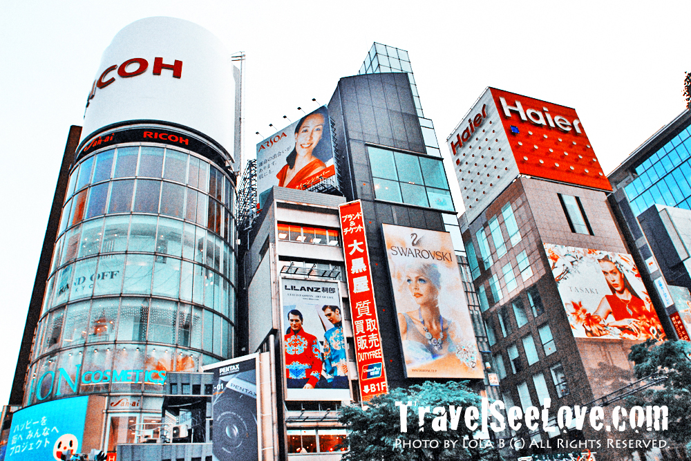 Ginza is one of the most luxurious shopping districts in the world - there's no high end store you are looking for that you wouldn't find at Ginza