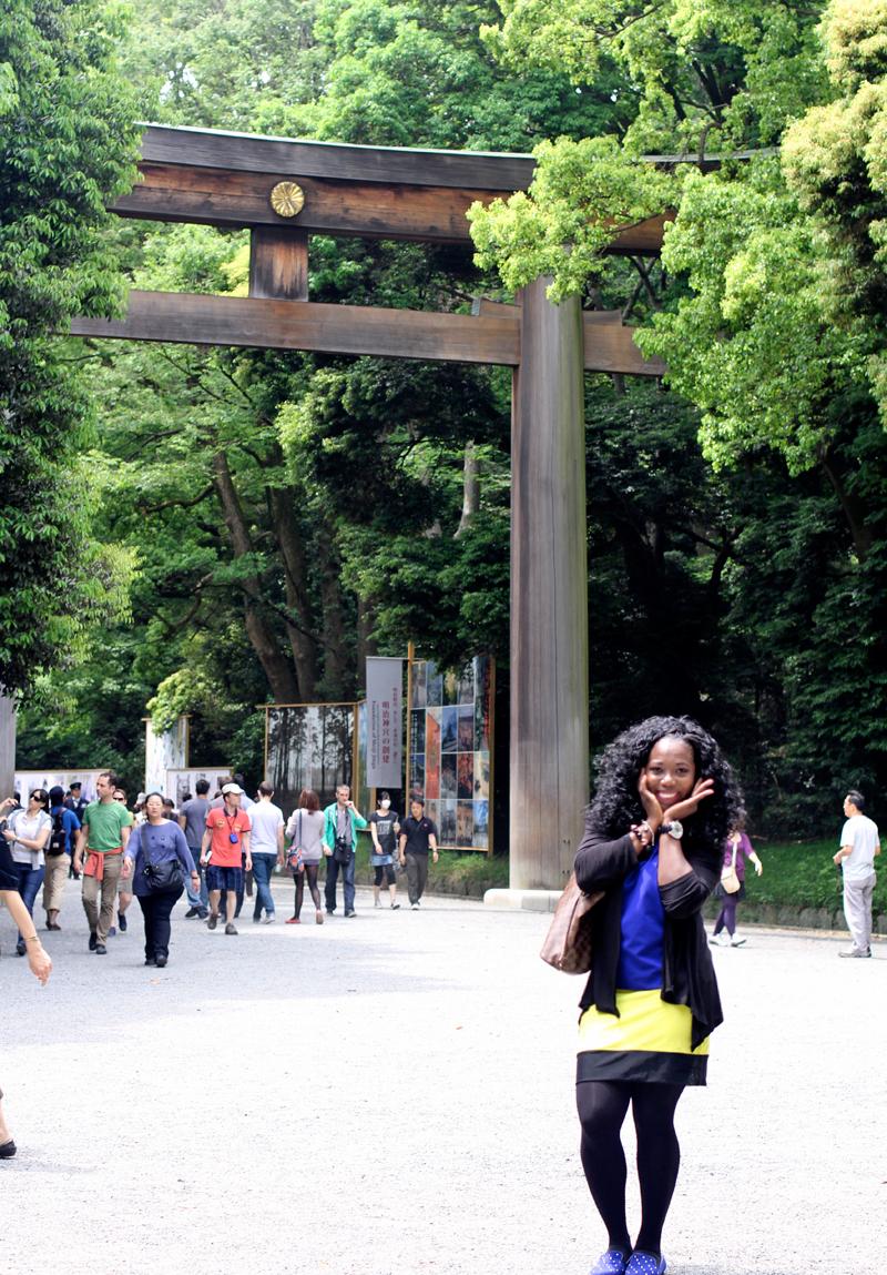 At Harajuku Park