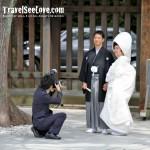 Real wedding at Harajuku Park