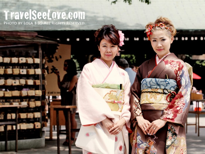 Loved their kimonos!