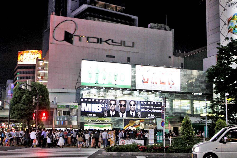 Shibuya at night.. hello Tokyo!