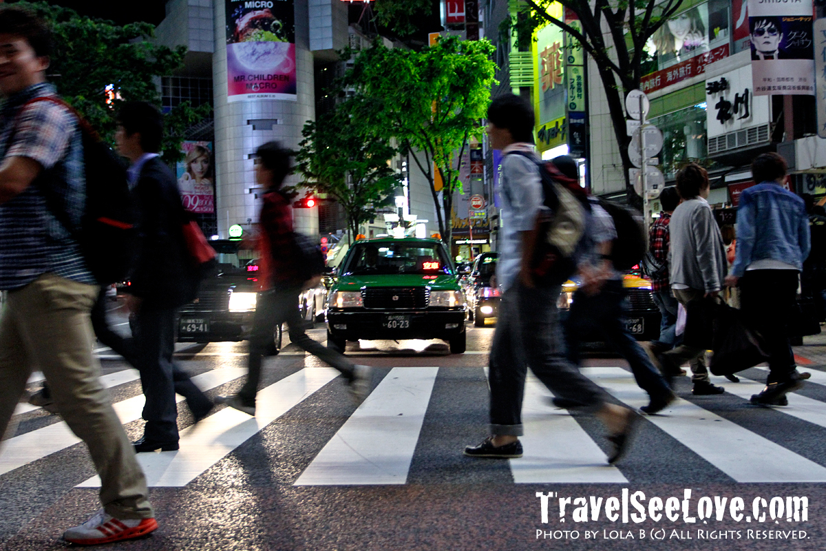 Shibuya crossing is every bit as awesome in person as you've heard it is