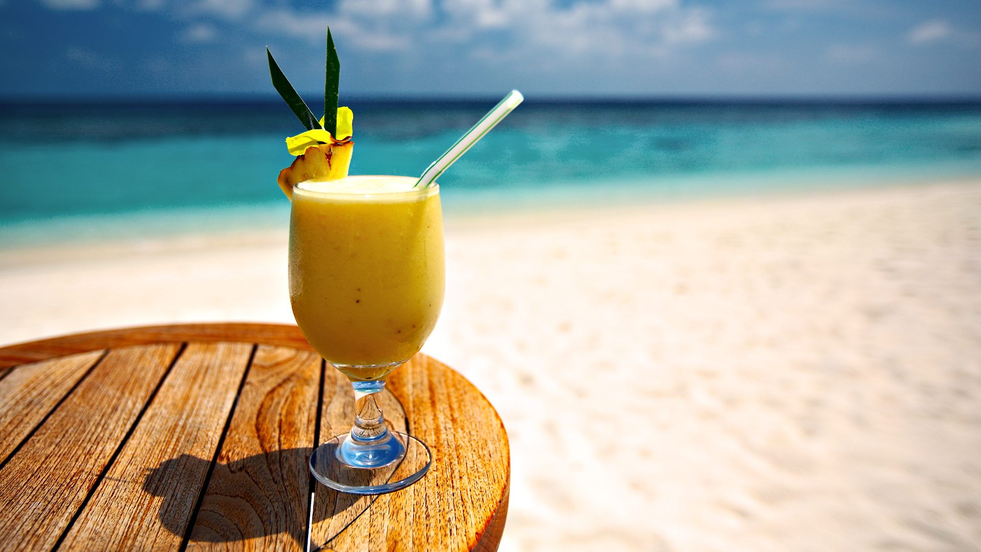 Drinks on the beach. Image credit not found. TravelSeeLove does not claim any rights to this image whatsoever.