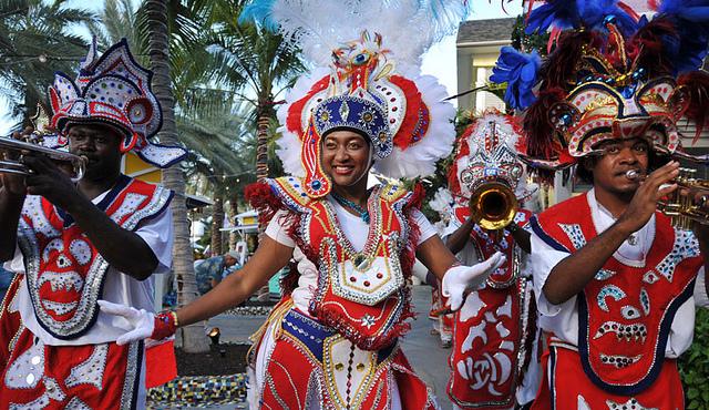 Junkanoo dancers. Source: sandyslipper.com