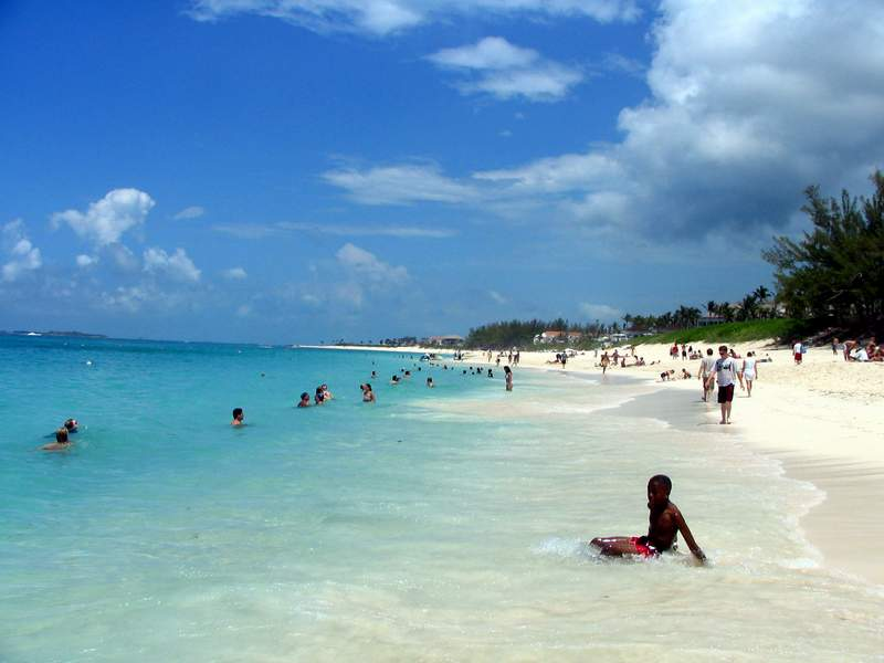 Paradise Beach, Nassau. Image credit not found. TravelSeeLove does not claim any rights to this image whatsoever.