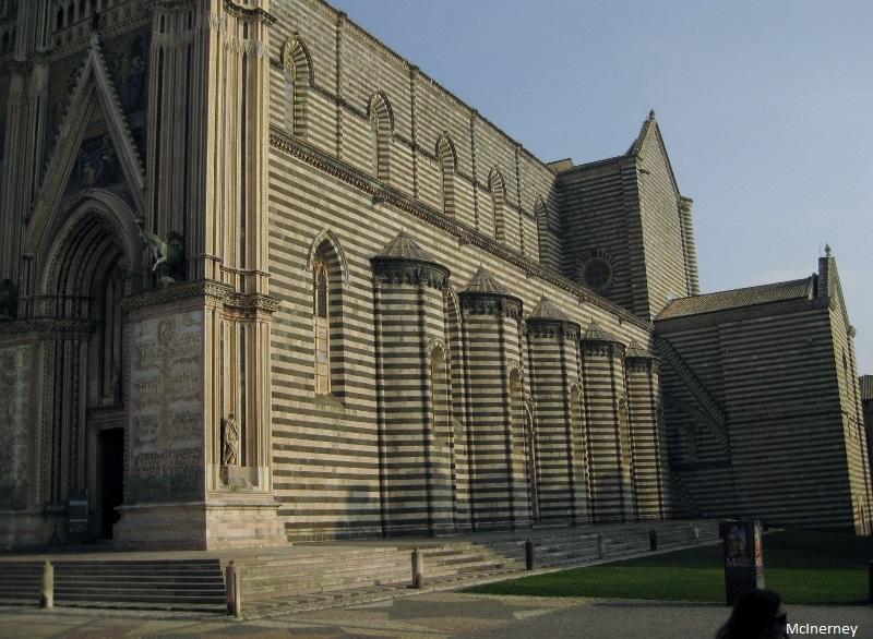 Duomo, Orvieto (side)