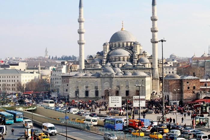 My view of Hagia Sophia from the restaurant balcony!
