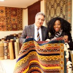 Can't leave Turkey without learning about Turkish rugs! Here I am with my Turkish rug sales man who tried to sell me this rug for the very low price of 6500 Euros (sarcasm, lol), which I managed to negotiate down miraculously to $1800. Ha! Maybe in 5 years :). But very nice guys though