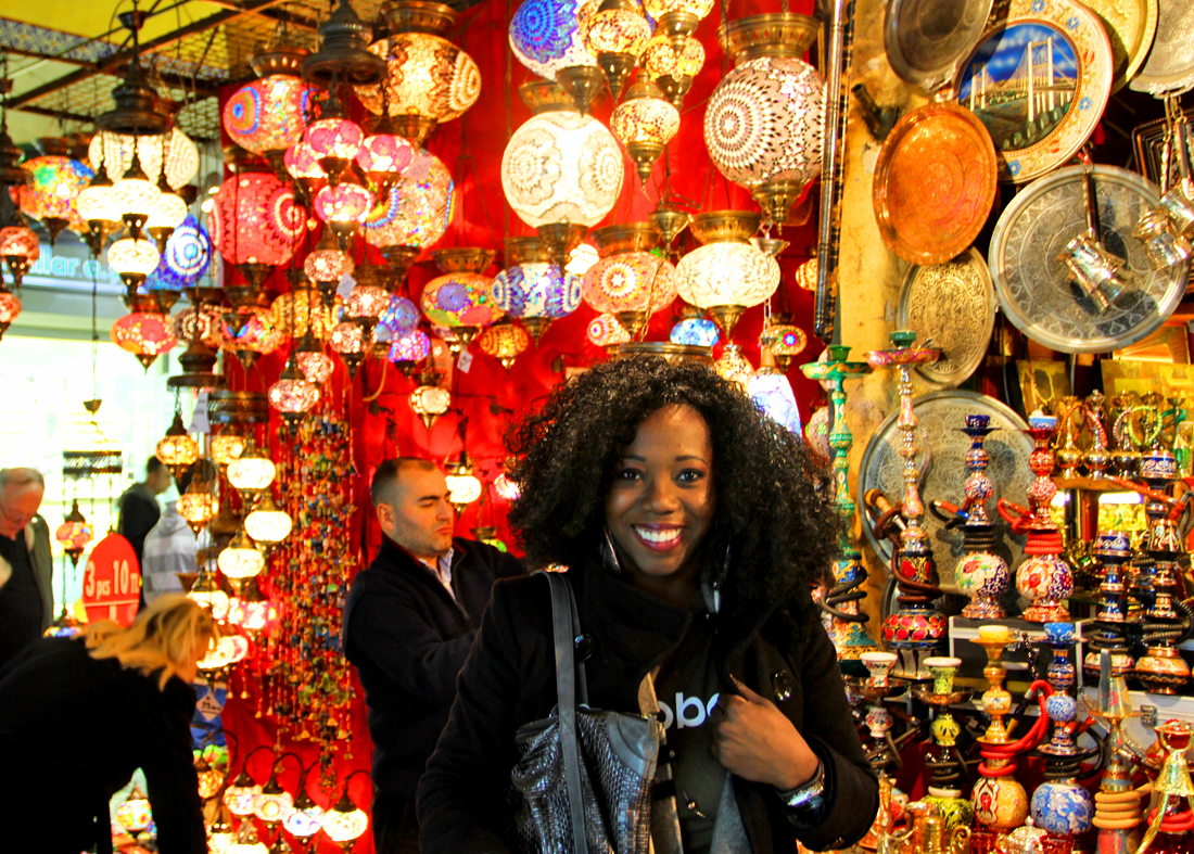 Next was visiting the Grand Bazaar which had everything!