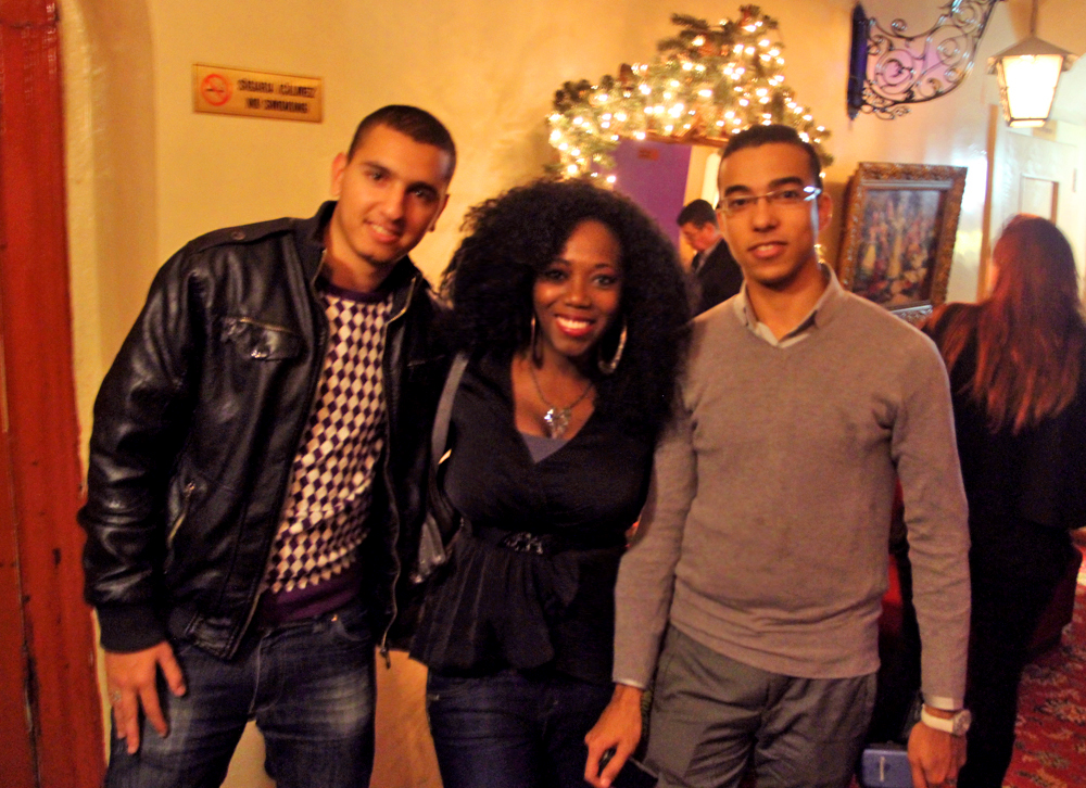 I met Mohammed and Abdul from Rabat, Morocco at dinner. Very cool and friendly guys! Great to meet them :)