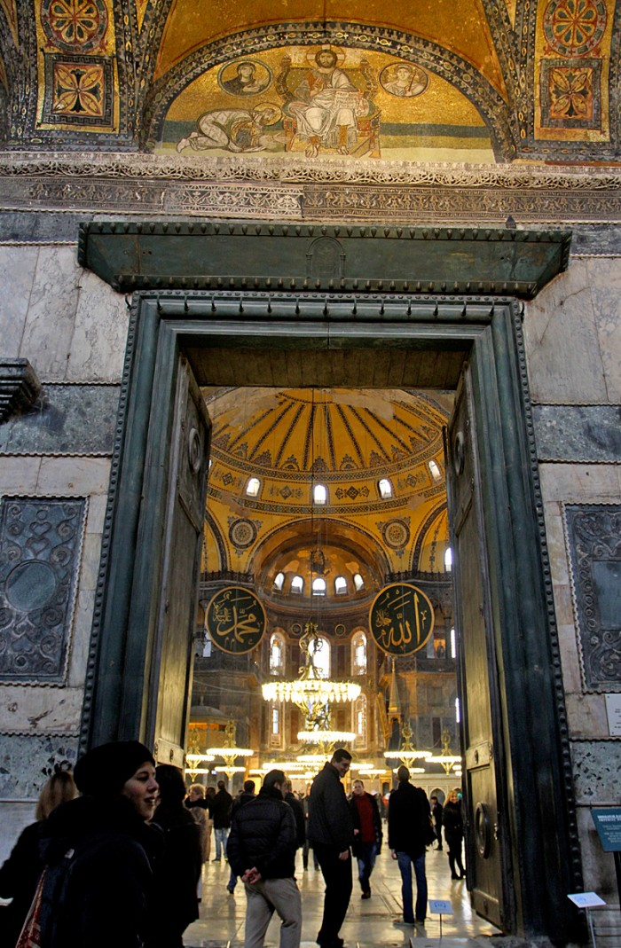 Then it was on to Hagia Sophia (Ayasofya in Turkish) which was jaw dropping!