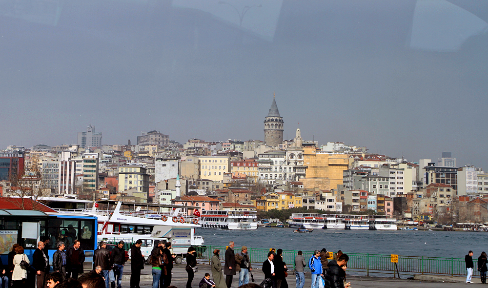 Istanbul is the only bi-continental city in the world spanning both Europe and Asia. While on the European side, you can just take a visit to the Asian side across the Bosporus.