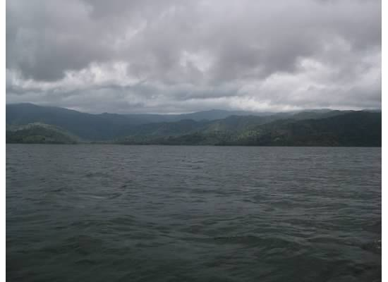 Ominous day on Lake Arenal