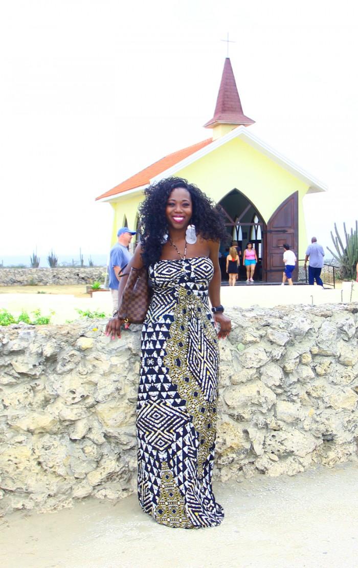 At the Alto Vista chapel