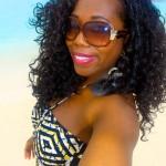 On baby beach
