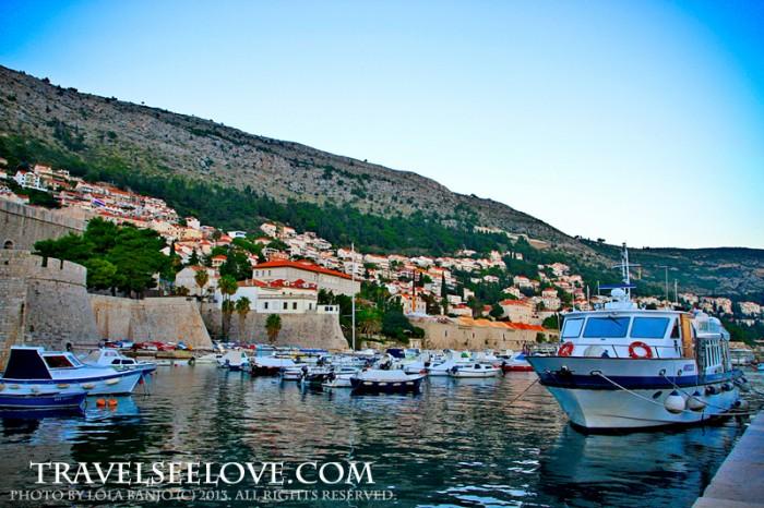 Boat dock in Old City