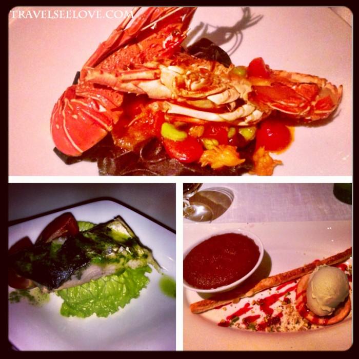 Dinner at Vapor Restaurant