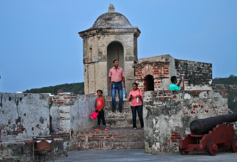 Exploring Castillo San Felipe de Barajas in Cartagena, Colombia